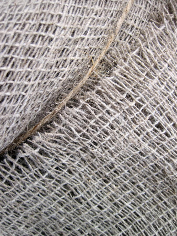 Linen fabric texture stock photo