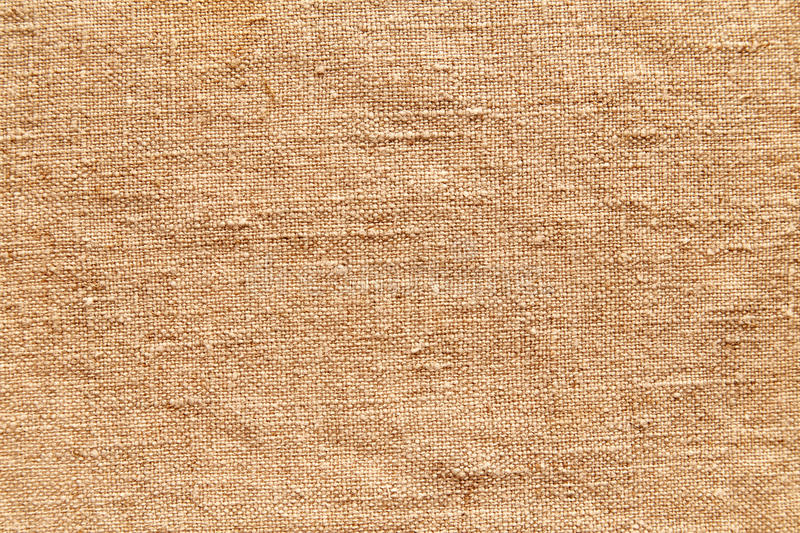 Linen fabric. Vintage old linen fabric texture stock images