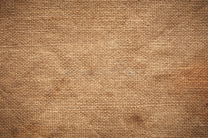Linen fabric. Vintage linen fabric texture. Burlap royalty free stock photo