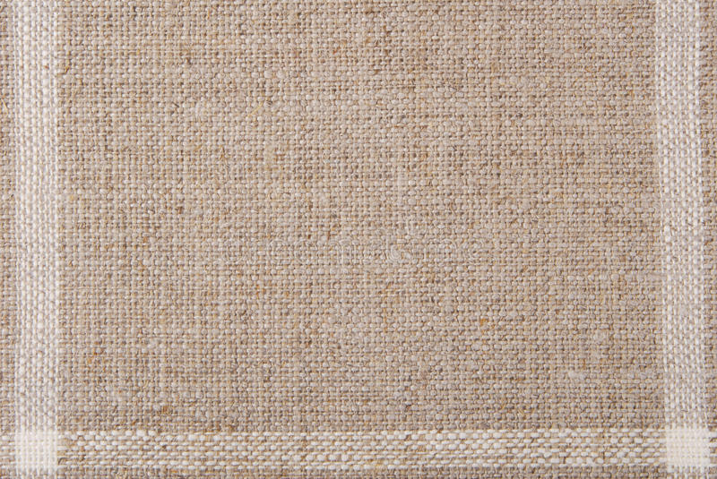 Linen hessian fabric texture. Background stock photos