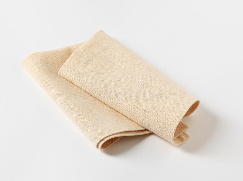 Download Linen napkin stock image. Image of table, fabric, object - 17778321