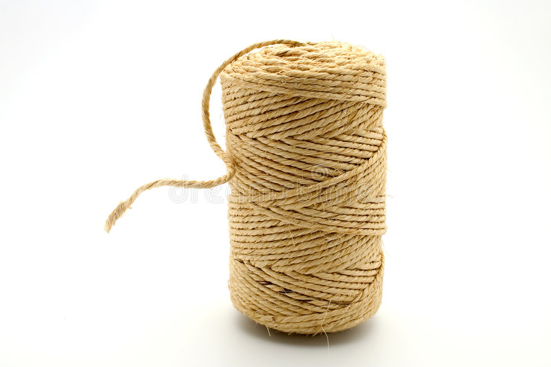 Linen string stock photography