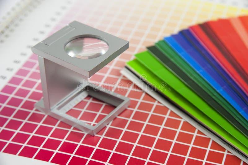 Linen tester stock image