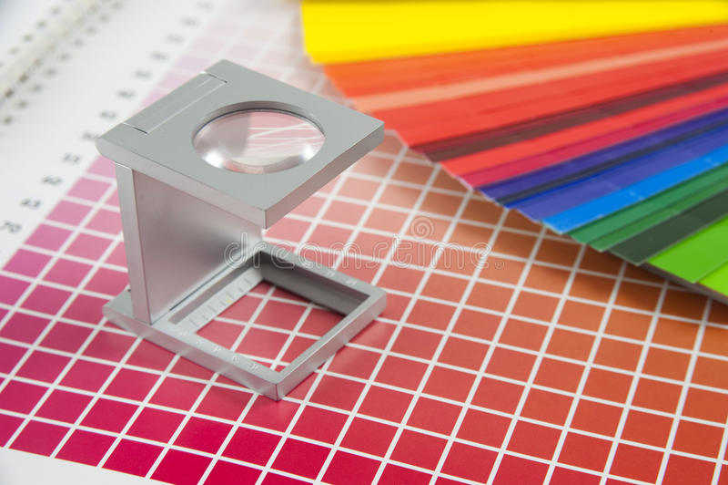 Linen tester stock photography