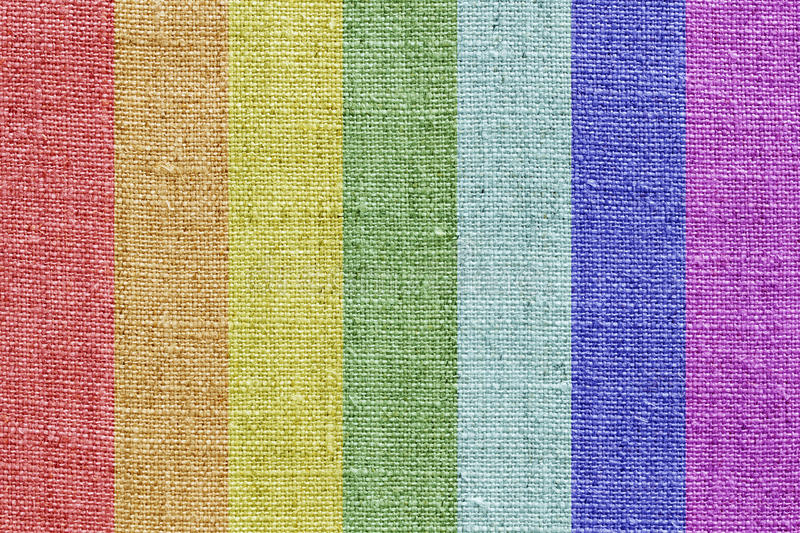 Download Linen Texture In The Rainbow Colors Stock Photo - Image: 24649650
