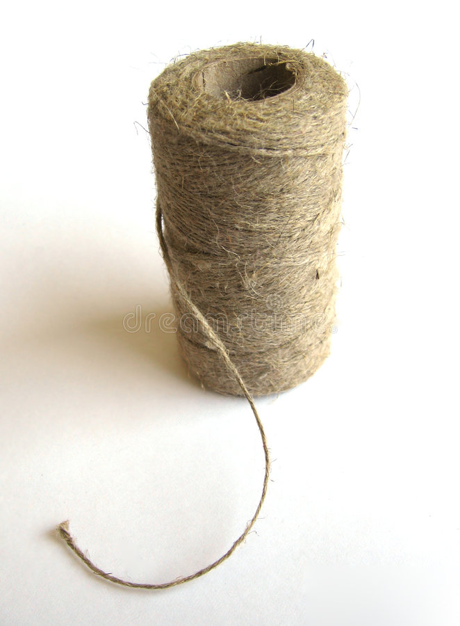 Download Linen twine #1 stock photo. Image of hasp, tape, thread - 107124