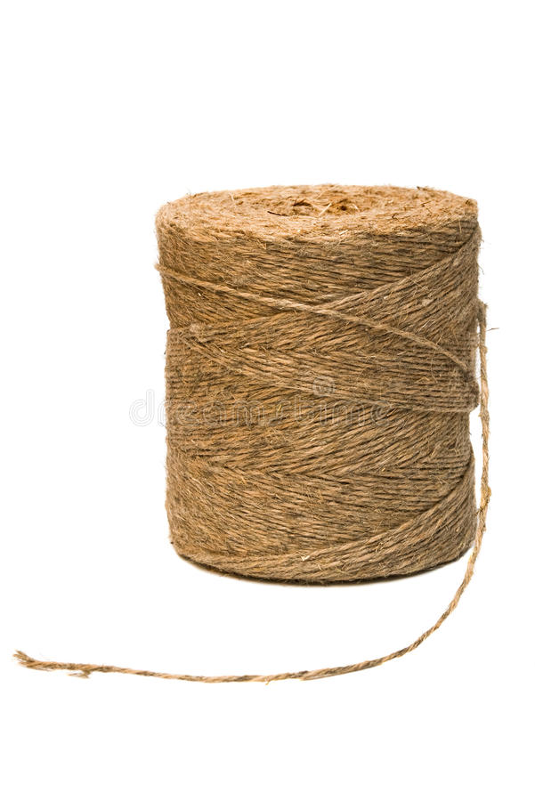 Download Linen Twine stock photo. Image of industry, cord, natural - 13902762