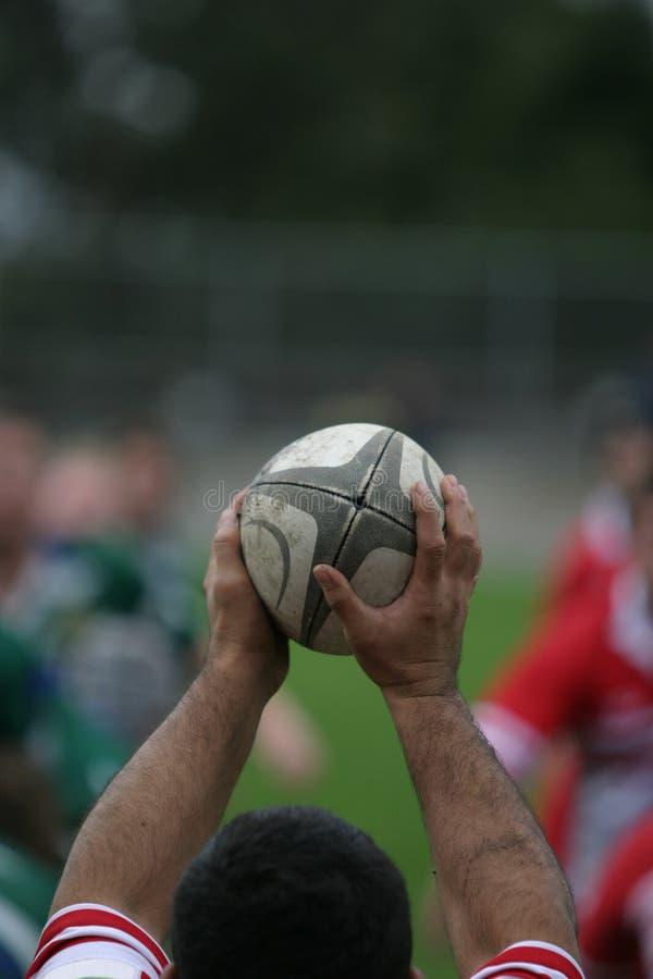 lineout rugby zdjęcia stock