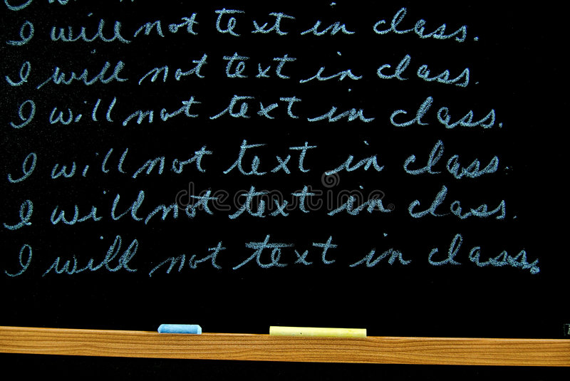 Download Lines stock photo. Image of write, classroom, punish, wooden - 6448062