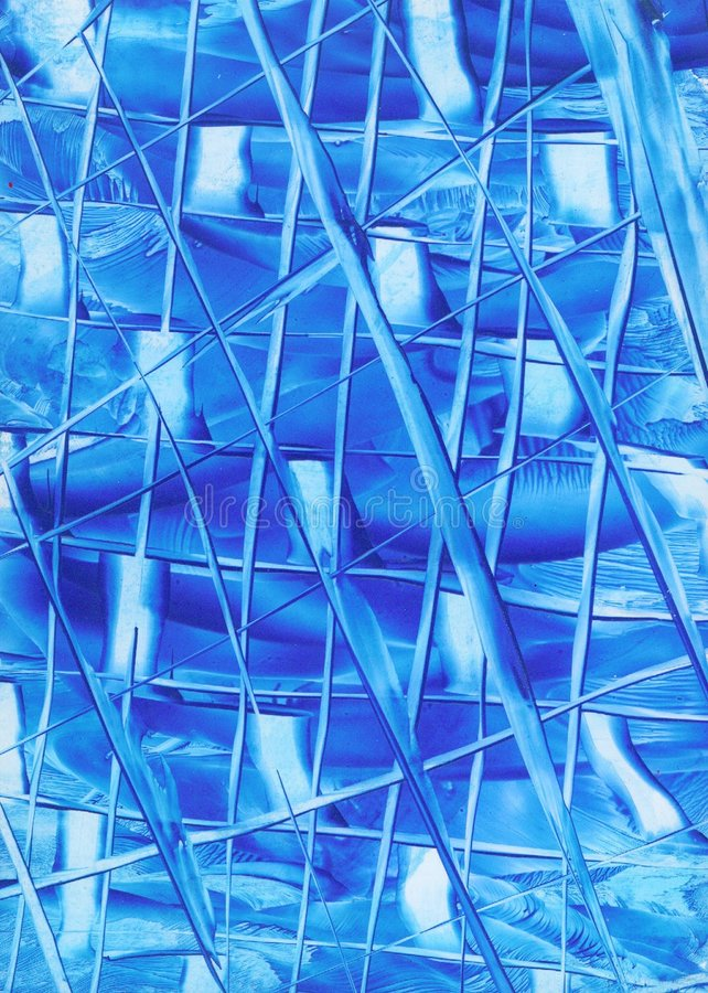 Download Lines of Blue Abstract stock illustration. Illustration of unique - 77608