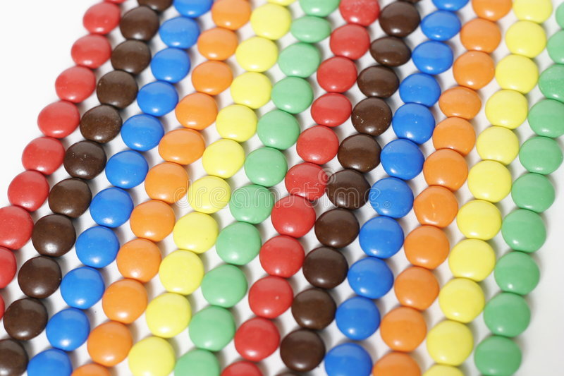 Lines of Candy royalty free stock photo