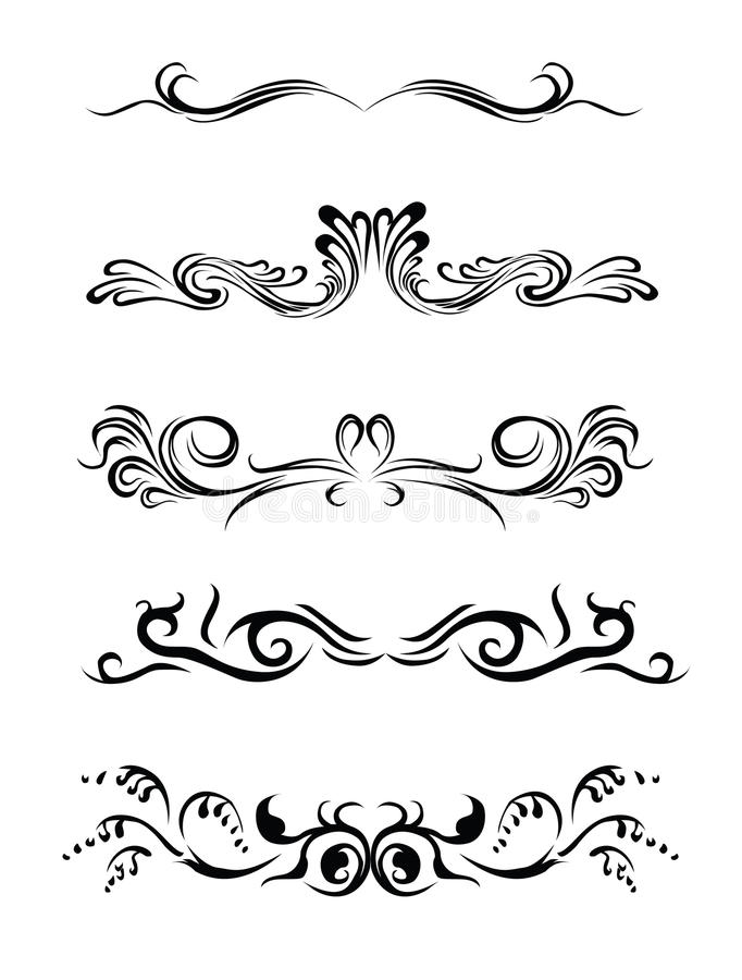Design Elements Of Different Styles. Stock Images - Image: 10732554
