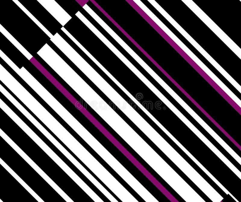 lines diagonal gfvördnad för konst op till två royaltyfri illustrationer