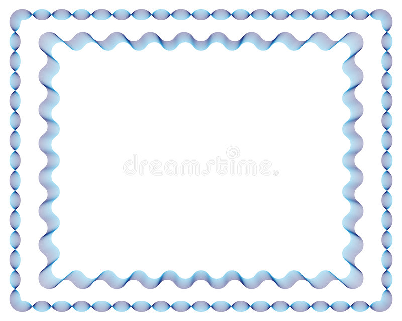 Download Lines Frames No.1+No.2 stock vector. Illustration of decorative - 9340657