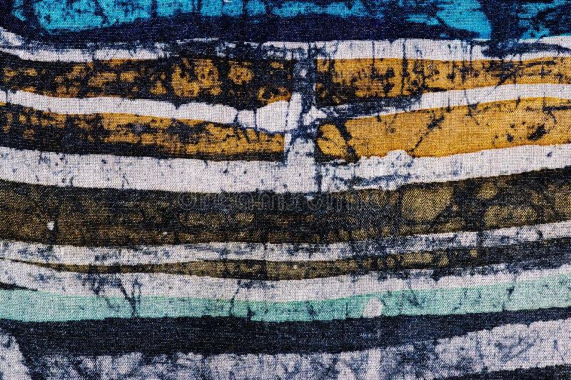 ines, hot batik, background texture, handmade on silk stock image