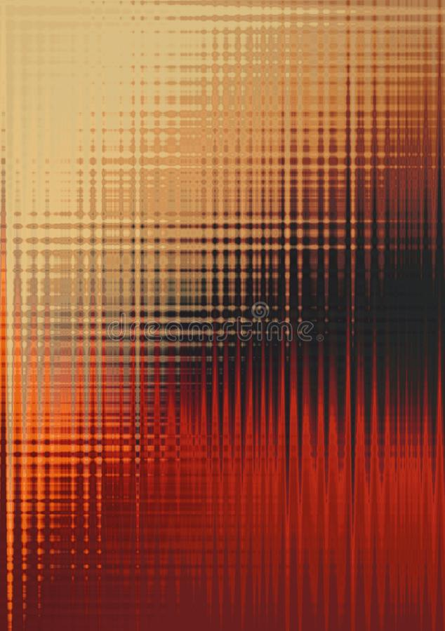 Lines multicolor abstract background on light background. empty. red orange background for document vector illustration