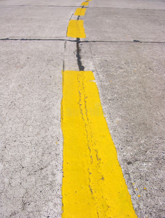 Free Lines On Road Royalty Free Stock Photo - 7666615