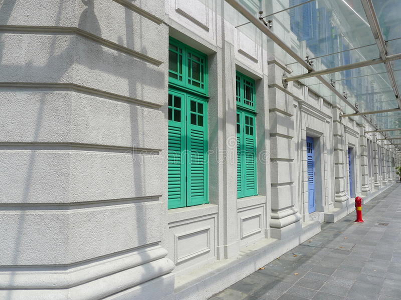 lines perspektiv arkivfoton