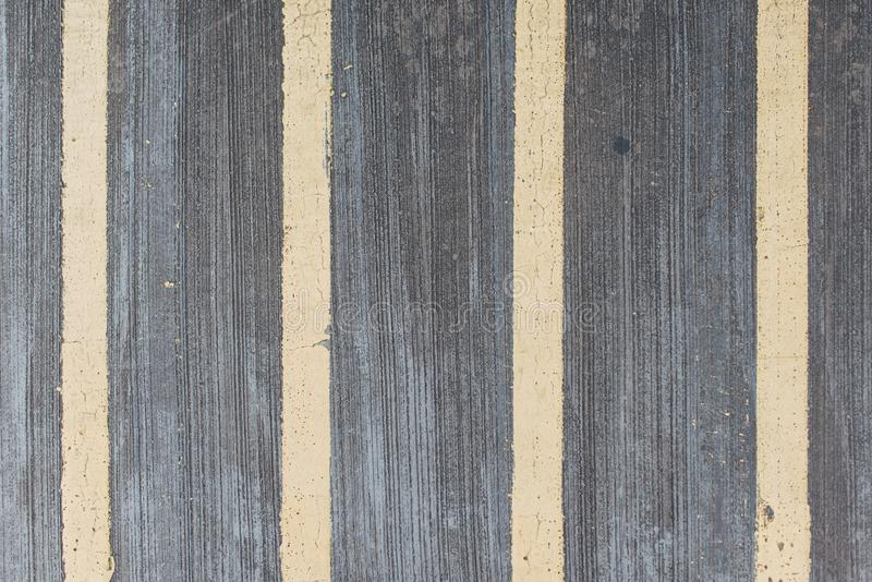 Lines on the road Pedestrian pathway Road marking straight lines. royalty free stock images