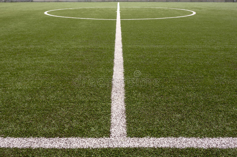 Soccer Field Lines stock images
