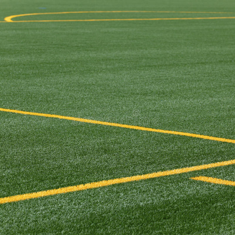 Download Lines On Soccer Pitch Royalty Free Stock Image - Image: 15125296