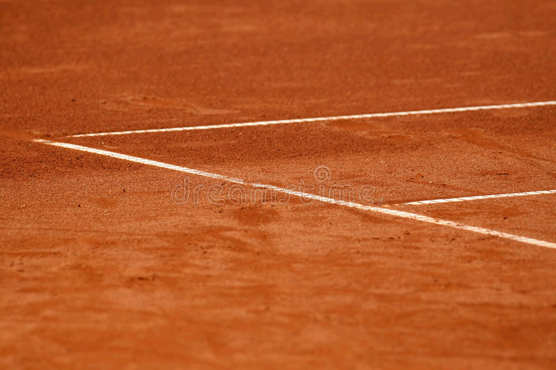 Download Lines on the tennis court stock photo. Image of exercise - 2401714