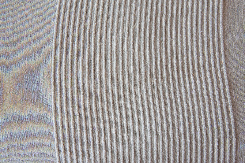 Lines Texture Of Fabric Stock Images