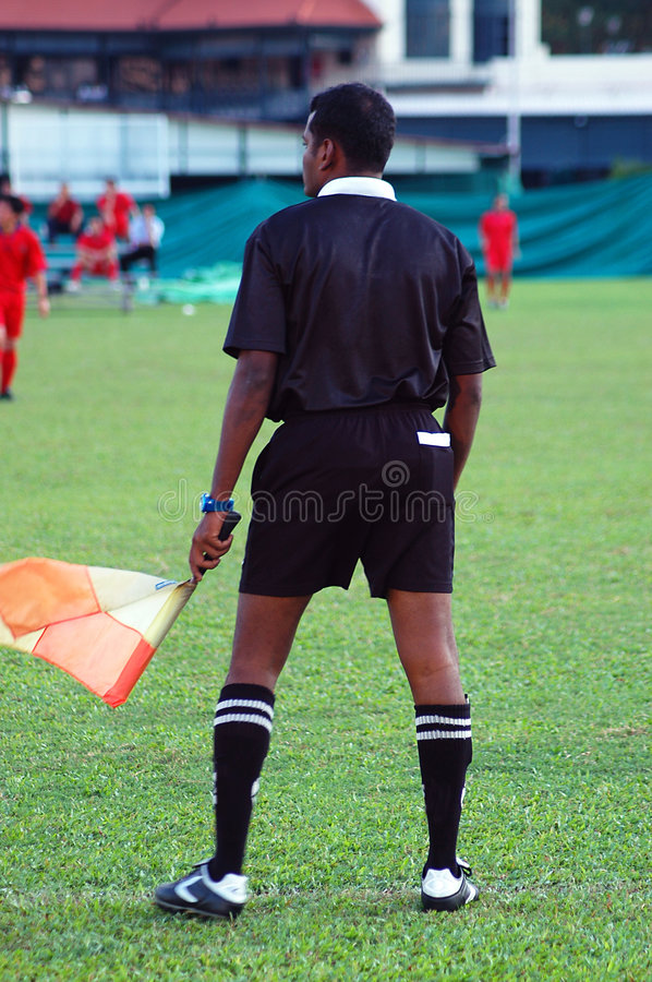 Download Linesman editorial stock image. Image of authority, football - 108269