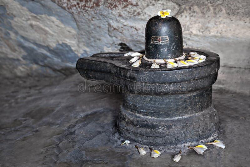 Lingam Shiva стоковые фотографии rf