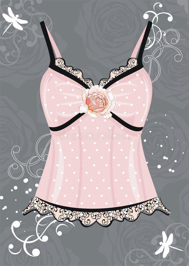 Download Lingerie stock vector. Illustration of lingerie, vogue - 15954228