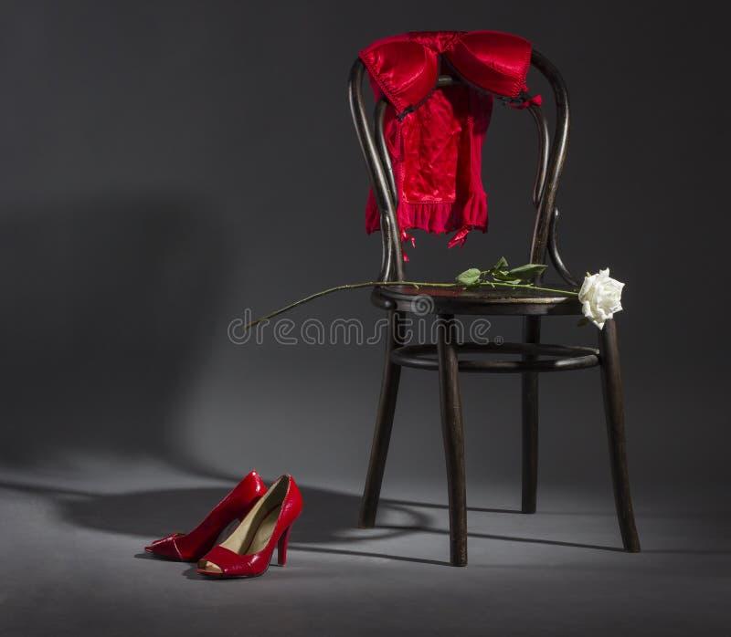Lingerie sexy, photographie stock libre de droits