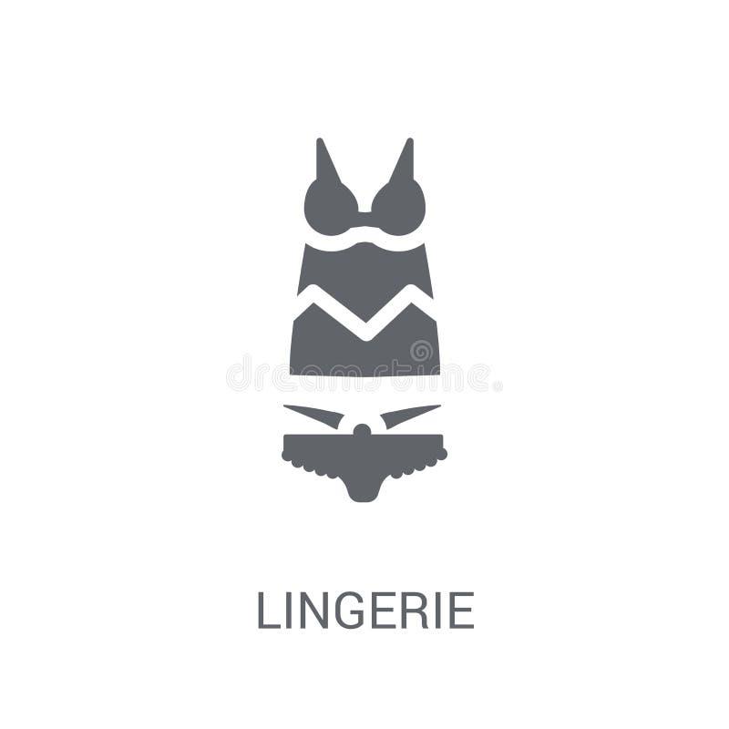 Lingeriepictogram  stock illustratie