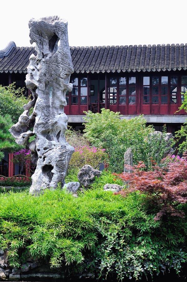 Lingering Garden Guanyun peak stock photo