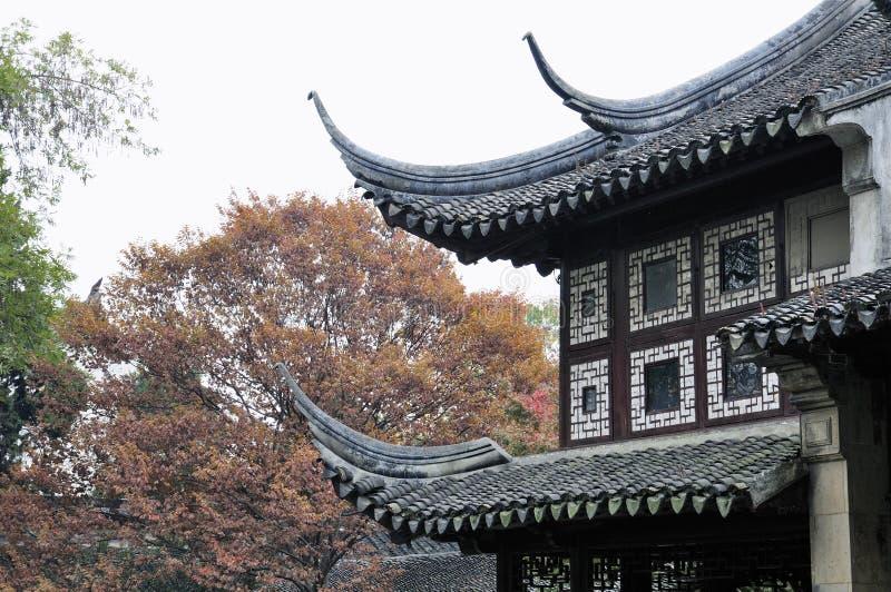Lingering garden in suzhou royalty free stock photo