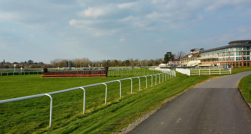 Lingfield Park Racecourse Resort. Grandstand & Hotel royalty free stock image