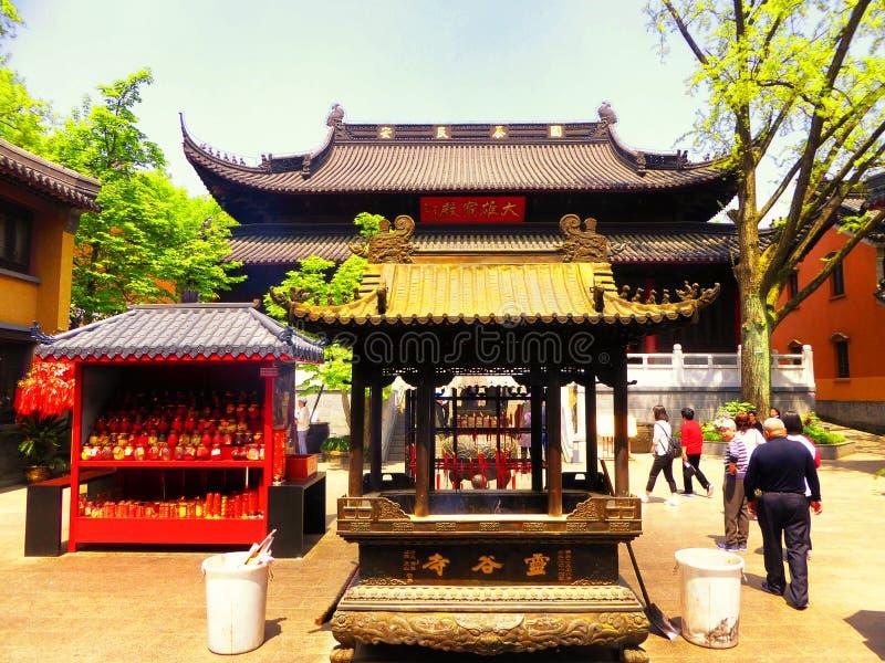 Linggu Temple imagem de stock