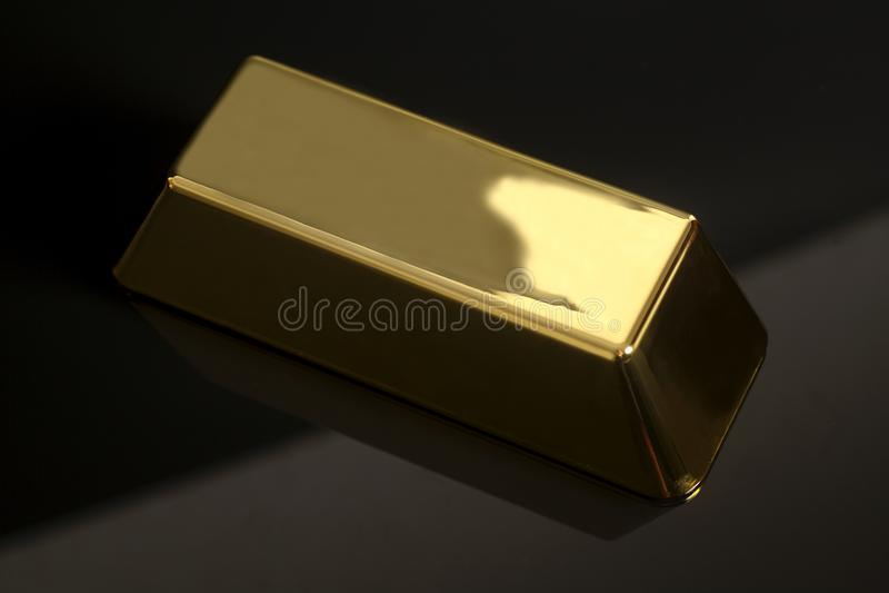 Lingot d'or photos libres de droits