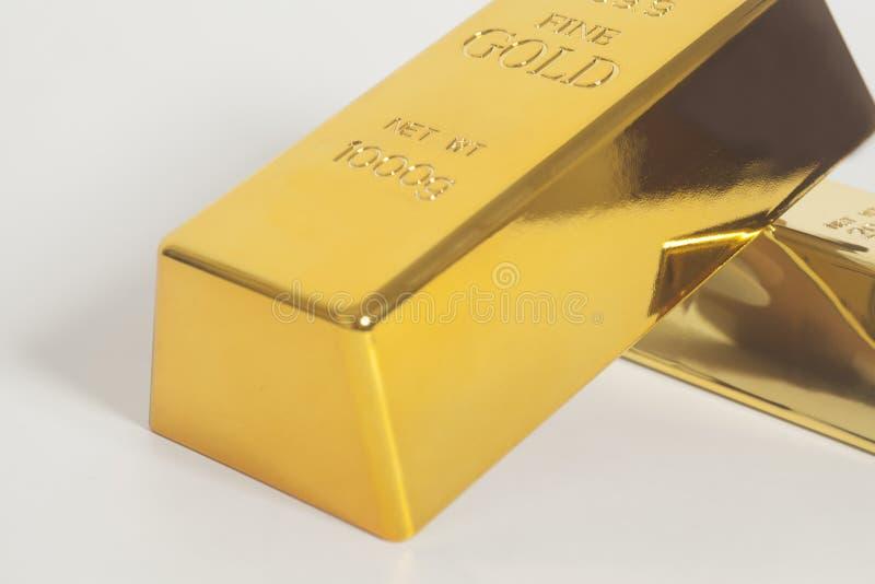 Lingot d'or photographie stock libre de droits