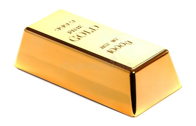 Lingote de ouro imagens de stock royalty free