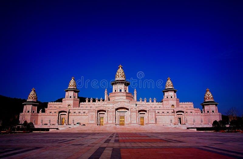 lingshan fangong pałac Wuxi fotografia royalty free