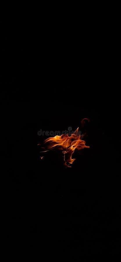 Lingua della fiamma immagini stock
