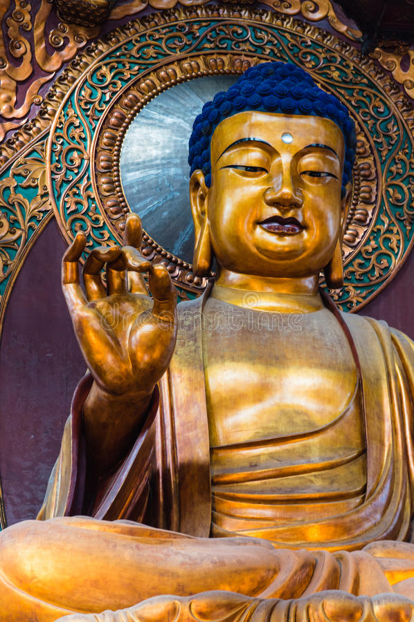 Lingyin Buddha zdjęcie stock