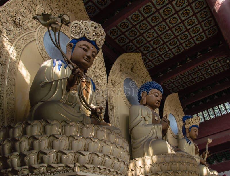 Lingyin Buddhist Temple stock photo