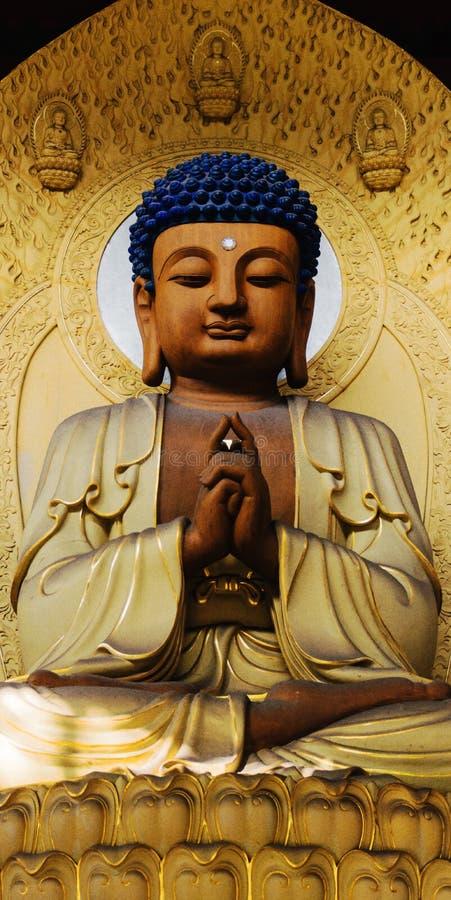 Lingyin Buddyjska świątynia obraz royalty free