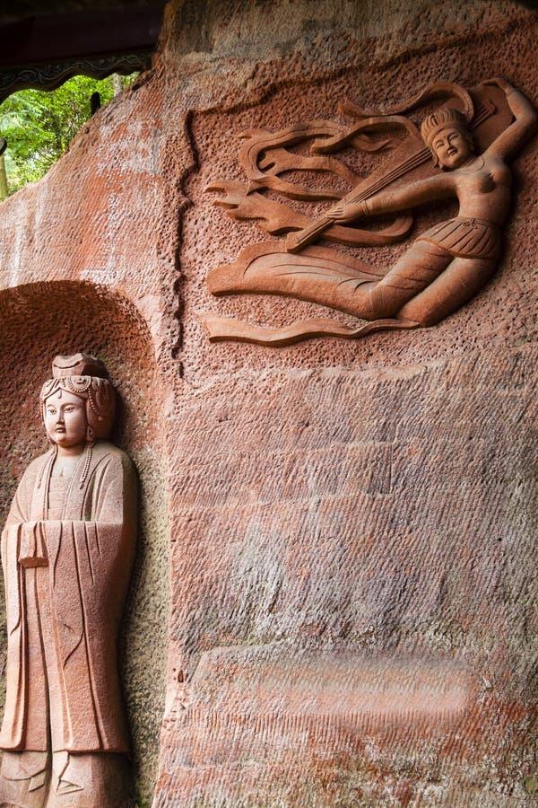 Lingyun单山乐山重庆中国 免版税库存照片