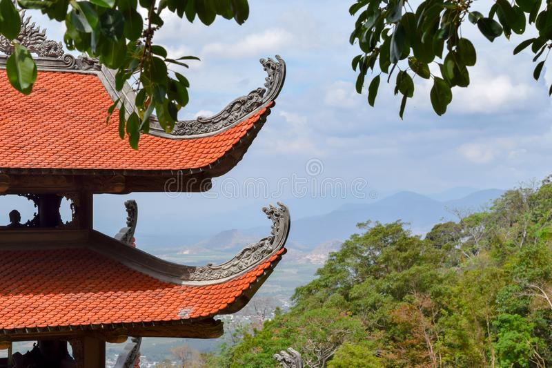 Linh Truong Tho Pagoda image libre de droits
