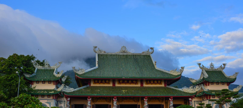 Linh Ung Pagoda en Da Nang, Vietnam imagen de archivo libre de regalías