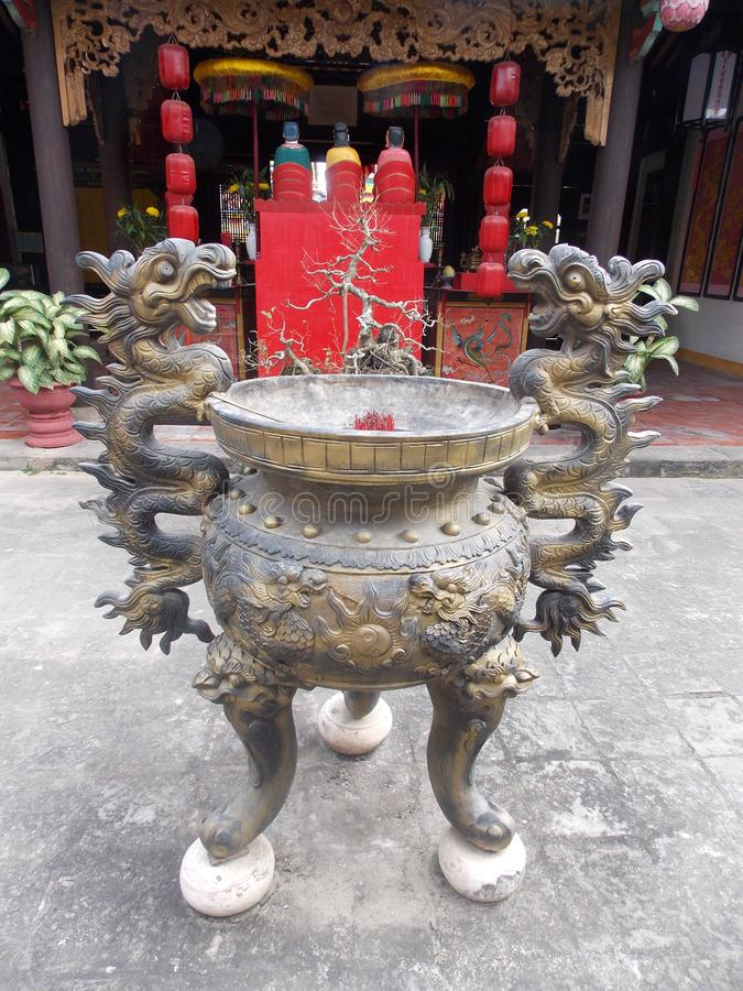 Linh Ung Pagoda, Vietnam imagen de archivo libre de regalías