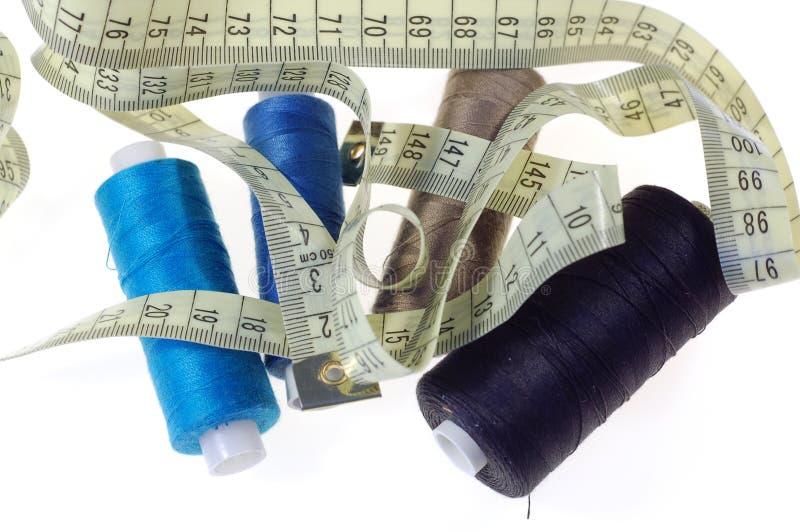 Linha #2 do algodão imagem de stock