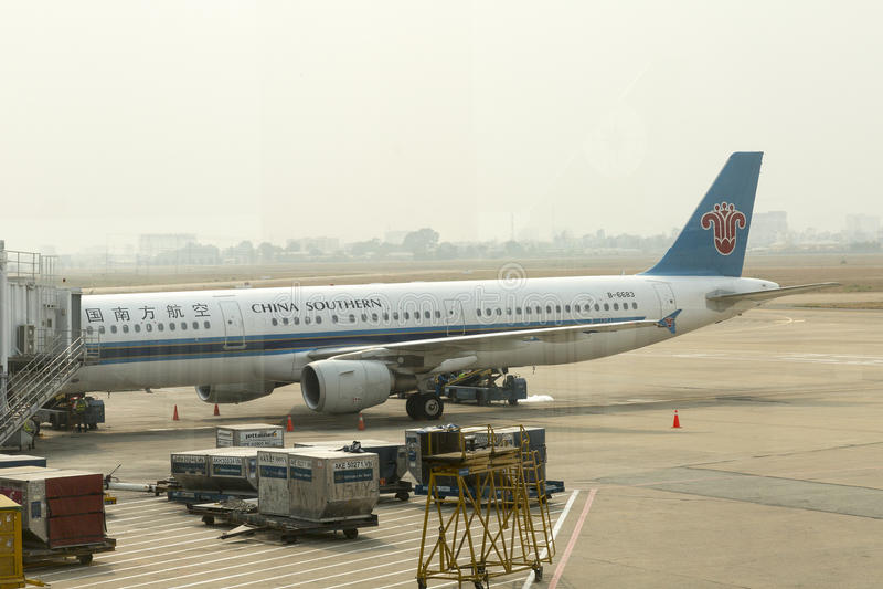 Linha aérea do sul de China fotos de stock